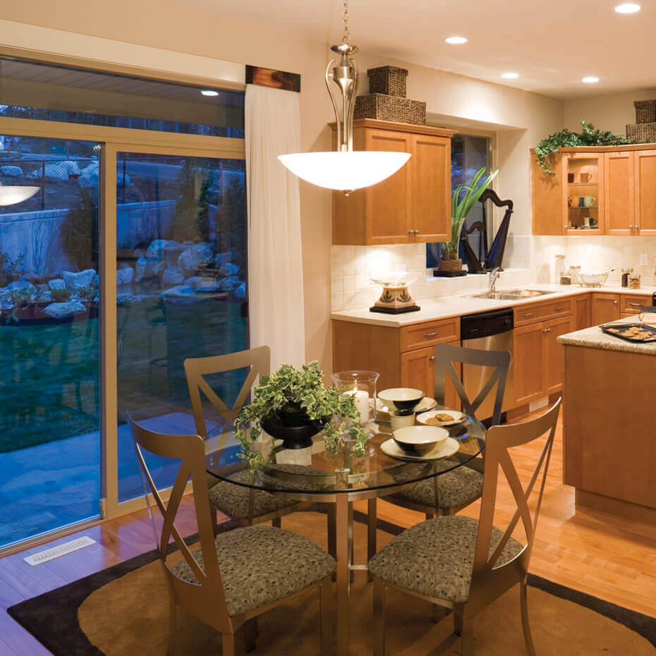 Patio Door in Kitchen