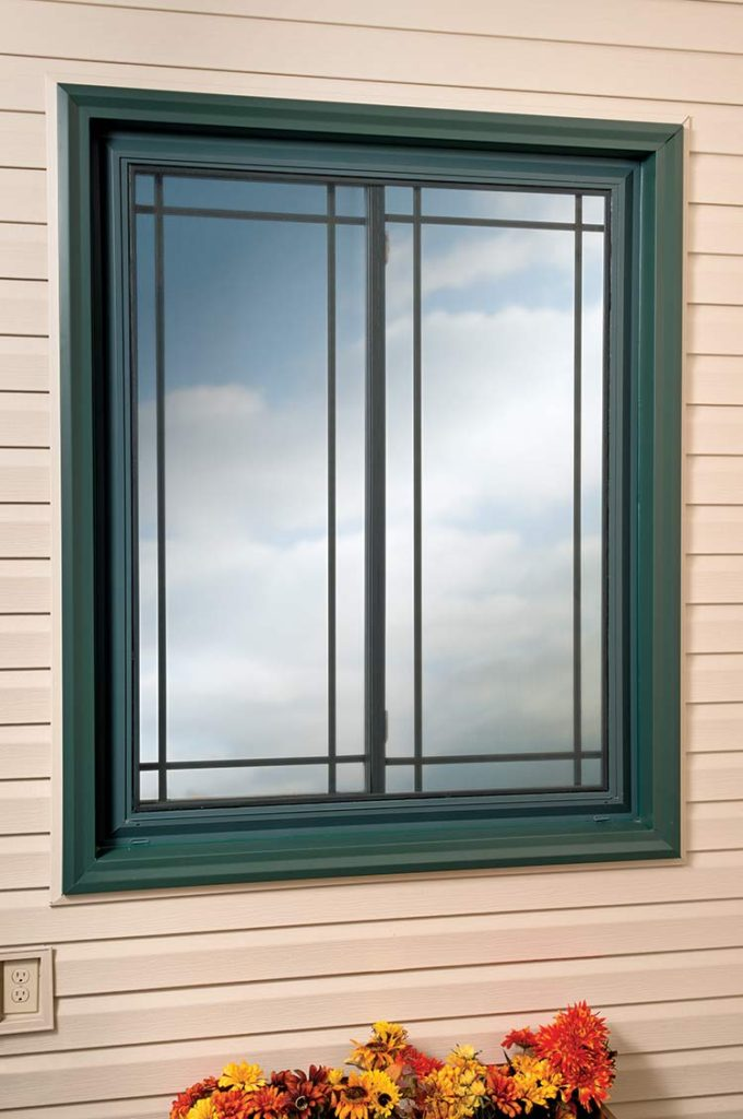 Joyce Windows with Custom Exterior Color