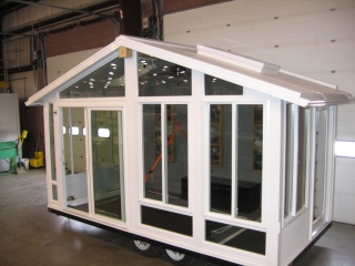 Sunroom Trailer Display