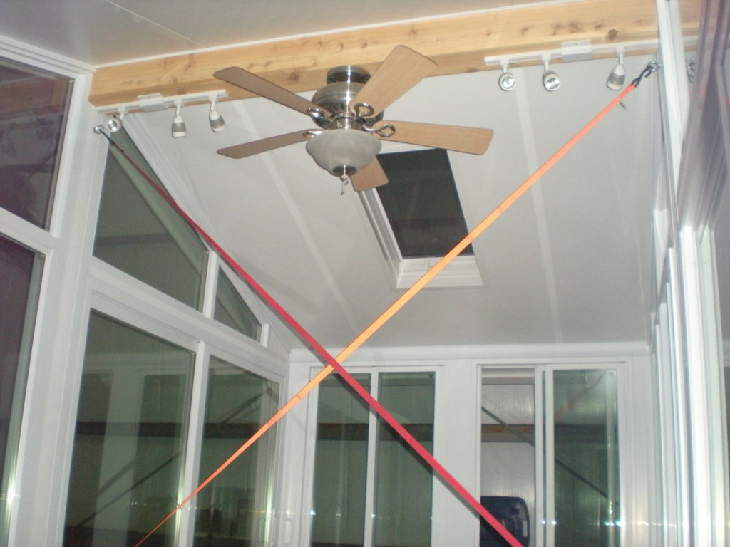 Sunroom Trailer Ready Tethered